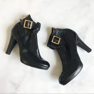 Tory Burch Melrose Mestico Bootie In Black Leather